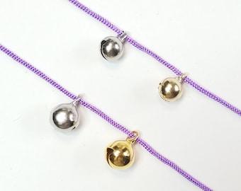 Horai bells for tsumami kanzashi tsumami zaiku- silver or gold color
