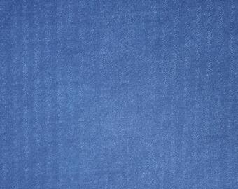 Asano Japan denim look double gauze cotton - denim blue hue