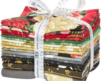 Fat Quarter and panel Bundle: Imperial Collection by Studio RK - Onyx Colorstory