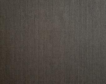 Olympus Japan sakizomemomen yarn dyed cotton fabric - Chocolate Brown