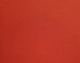 Kona cotton quilting fabric - Paprika color #150