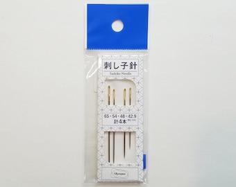 Olympus sashiko needles - 4 needle pack