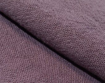 Olympus Japan Azumino-momen hand dyed cotton fabric - muted purple color