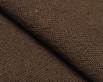 Olympus Japan Azumino-momen hand dyed cotton fabric - Chestnut brown color