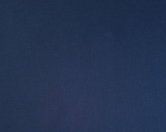 Kona cotton quilting fabric - Navy blue color #1243