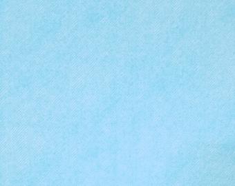 Asano Japan denim look double gauze cotton - pale sky blue hue
