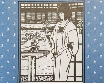 Folkware sewing pattern #143 Japanese Michiyuki Misses XS - 2XL