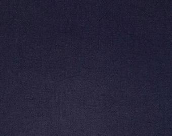Botanical indigo dyed Japanese aizome cotton fabric - thick yarn - 14 inch remnant