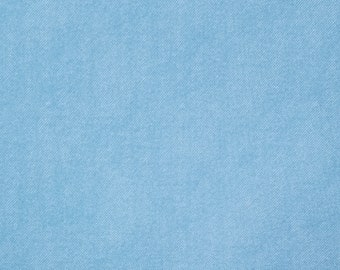Asano Japan denim look double gauze cotton - faded denim blue hue