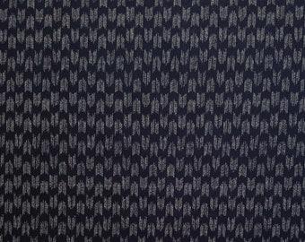 Traditional indigo basics quilting cotton  - Yagasuri Arrow pattern