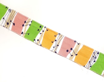 Vintage 1 5/8 inch cotton trim with music notes - 5 yards