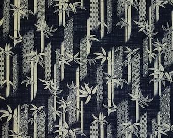 Sevenberry Japan Nara Homespun cotton canvas fabric - Bamboo and traditional designs