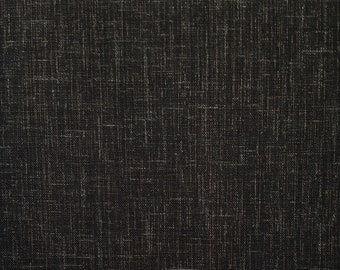 Sevenberry Japan Sevenberry Nara Homespun Collection - Rustic espresso black-brown cotton