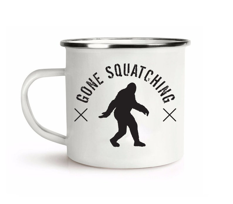Camp cup, Bigfoot gifts, Gone Squatching, Camping, Camping cup, Sasquatch  cup, Oregon, Pacific Northwest, Happy Camper, Camper, Northwest