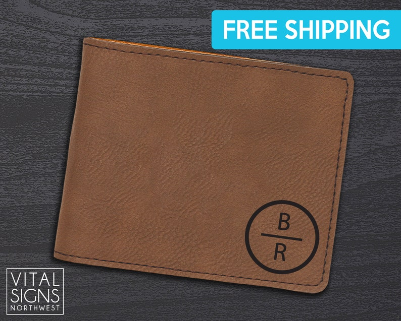 5a12564e06ff Personalized Wallet Mens leather wallet Men s wallet