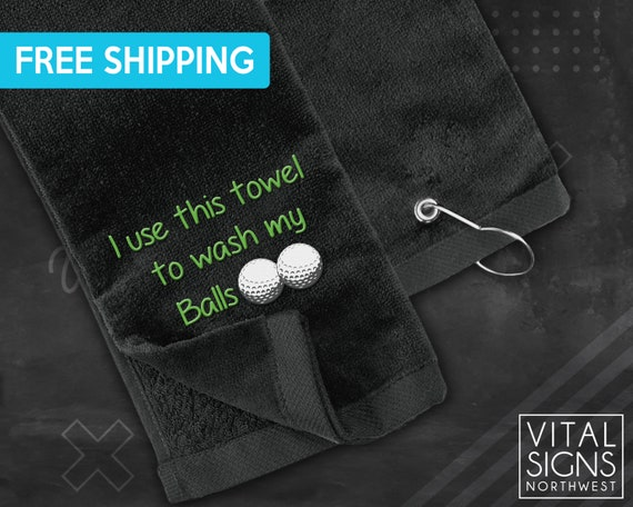 Golf Towel – Wash My Balls