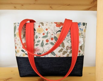 Made to Order Flower Vibes Modern Reusable Bag