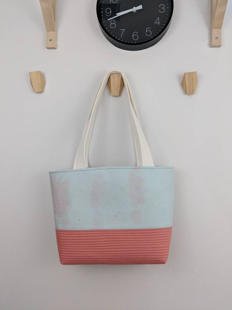 Ready to Ship Sea of Pink Modern Reusable Bag