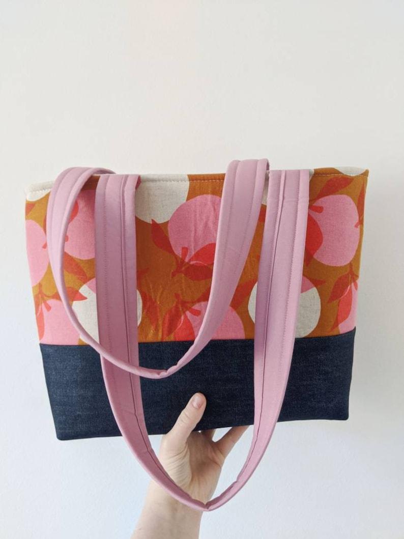 Modern Reusable Bag Peachy