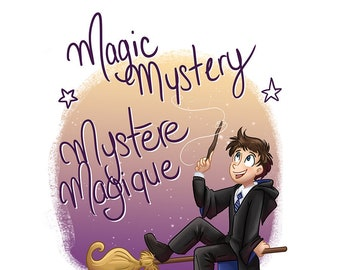 Magic mystery, Surprise package, Mystery package, surprise gifts, magic world