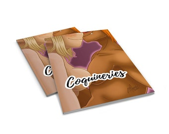 Coquineries vol.1, Fanart, NSFW, book, sketches, familly, couple, colored illustrations, fanarts