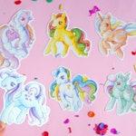 6 Stickers set My Little Pony Twinkle Eye