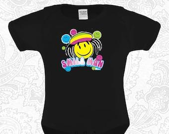 ffd9258c5 Smile Mon Rasta Baby Funny Onesie / Creeper / Bodysuit