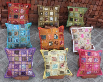 Indian Pillow Cover Etsy