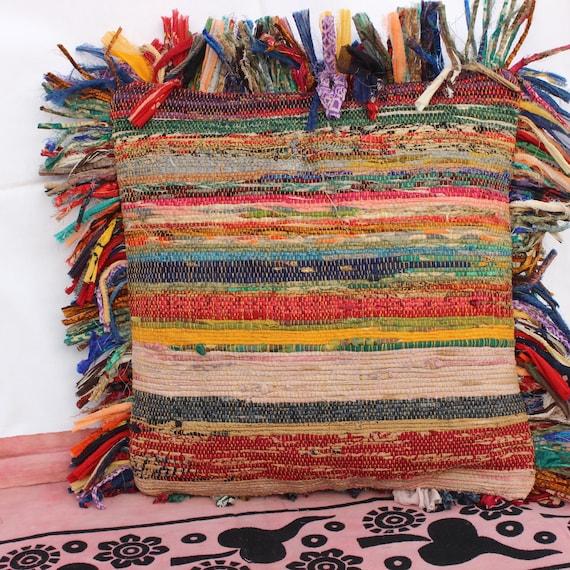 decorative boho accent unique pretty patchwork 16x16.htm boho pillow cover bohemian cushion decorative pillow indian etsy  boho pillow cover bohemian cushion