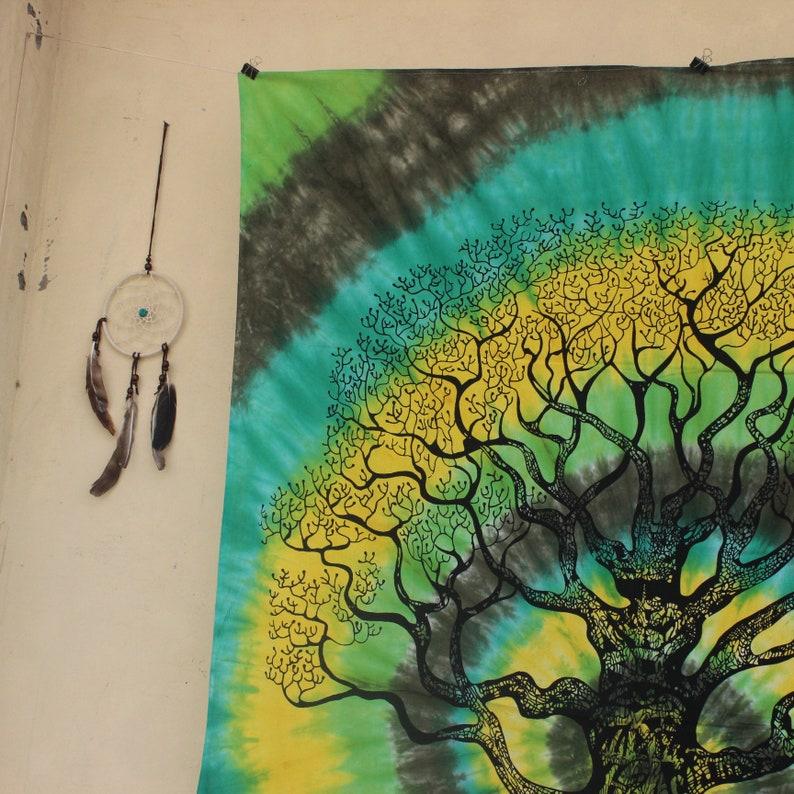 US vendeur celtique arbre de vie Boho Mandala Tapisserie COOL Wall Decor