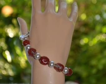 Bracelet in old enamels. Paris.