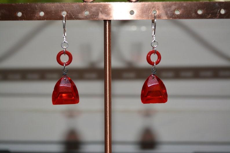 Paris Glass earrings