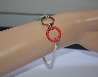 Bracelet rings in Glass Rousselet, Paris.
