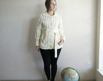 50% OFF Vintage Knit Sears Cardigan Sweater