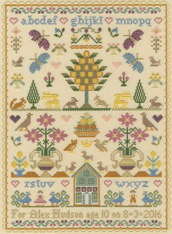 Bothy Threads ~ Counted Cross Stitch Kit ~ No Cause for A-Llama ~  XHD40
