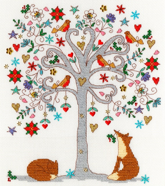 Love Designs by Kim Anderson Counted Cross Stitch Kit Bothy Threads