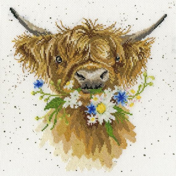 Bothy Threads Tapisserie Kit-Poppy Field Tapisserie-par Hannah Dale