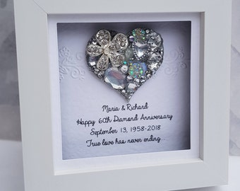 60Th Anniversary Gifts >> 60th Anniversary Etsy