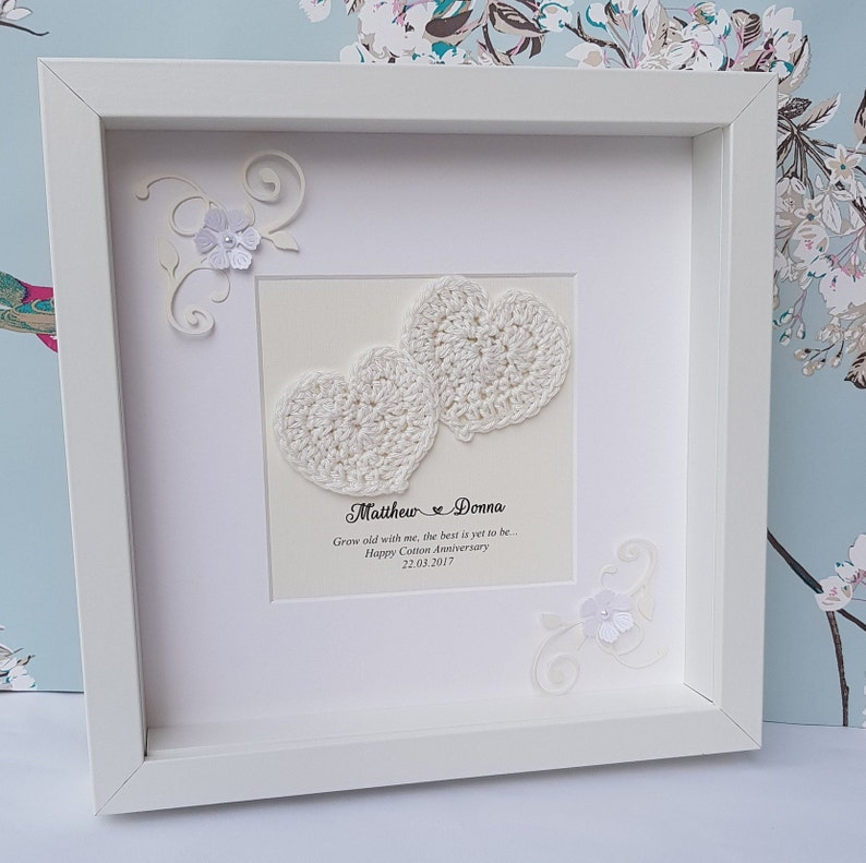0190d3fc93bd 2nd anniversary giftcotton wedding anniversary gift for