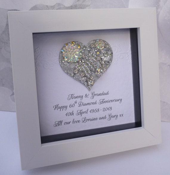 image 0 & 60th anniversary gift 15th wedding anniversary gift Crystal | Etsy