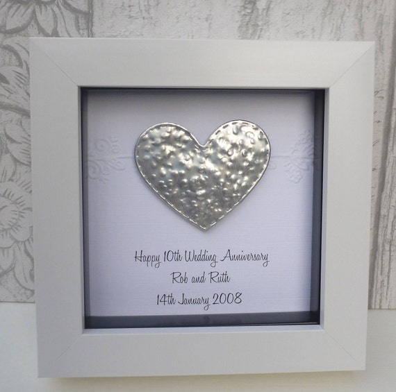 10th Anniversary Gift 11th Steel Wedding Anniversary Gift Etsy