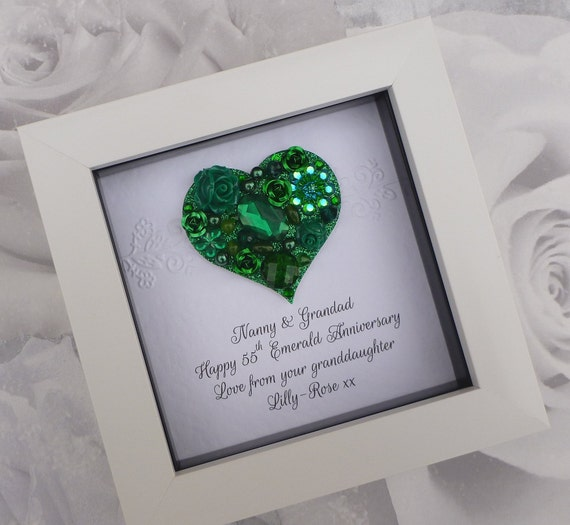55th Anniversary Gift 55th Wedding Anniversary Gift55th Etsy
