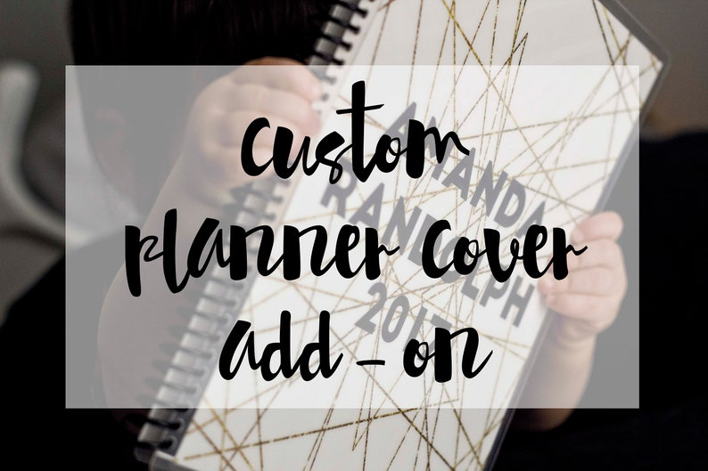 Custom Planner Cover Design Add-On for The Everything Planner image 0