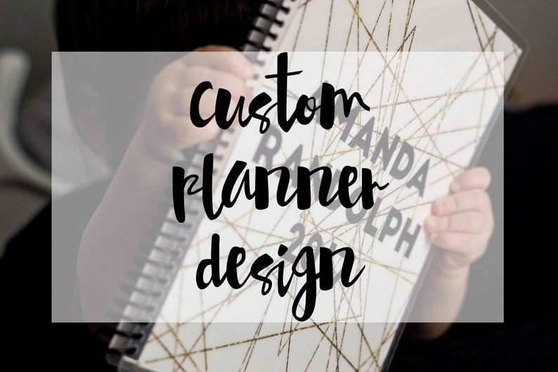 Custom Planner Design  Design Only image 0