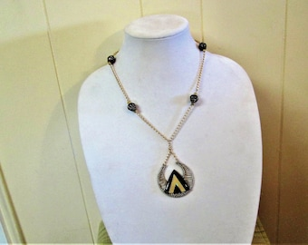 Pyramid of Power Necklace