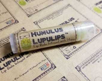 Humulus Lupulips™ All Natural Lip Balm Infused with Hops (Net Wt. 0.15oz/4.25g)