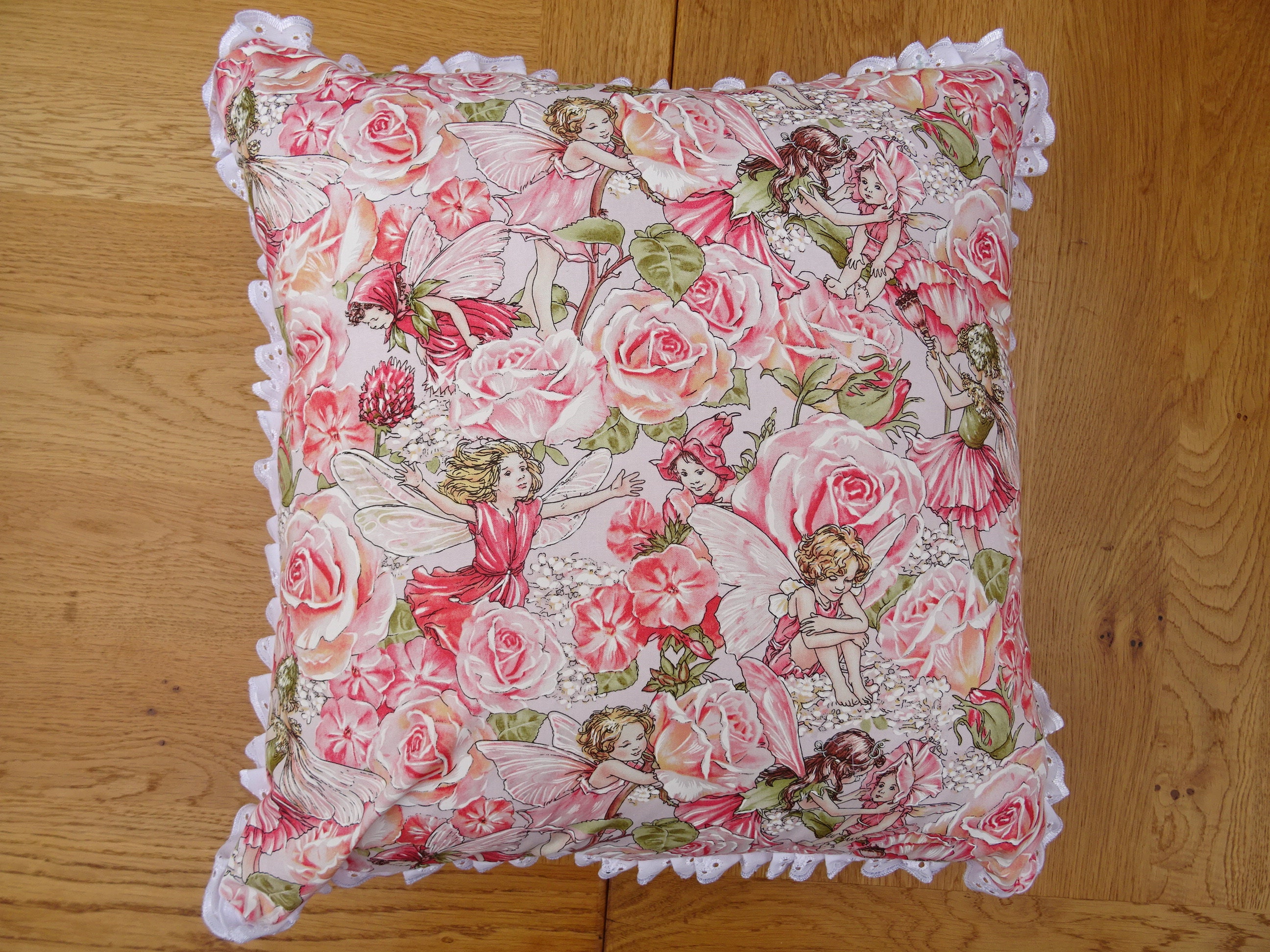 Flower Fairies Cushion Cover 18 Inch 46 Cm With Or Without Insert