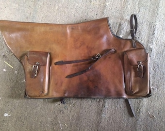 Mochila by Pony Express Vintage weighted horse racing saddle pad