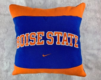 University in Boise Idaho Recycled Sweatshirt Pillow, College Student Gift, Boise College Dorm Pillow, Graduation Gift, College Acceptance