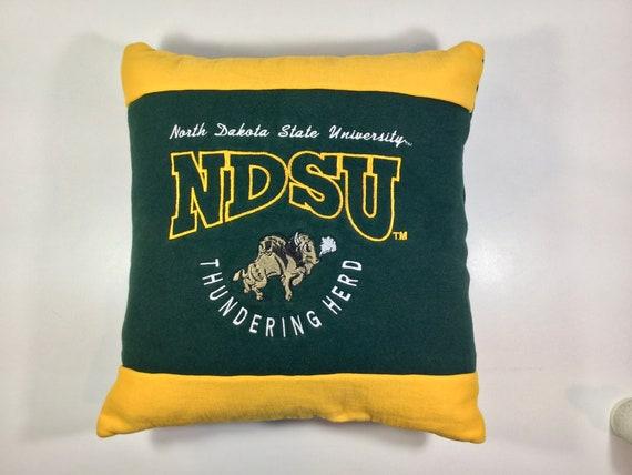 North Dakota State University Ndsu Sweatshirt Pillow College Etsy